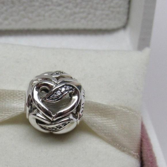 b49786523 Pandora Ribbons of Love Hearts w/ CZ's Charm. pandora.  M_5b996baa1b3294b05d22bd61. M_5b996baa1b3294b05d22bd61